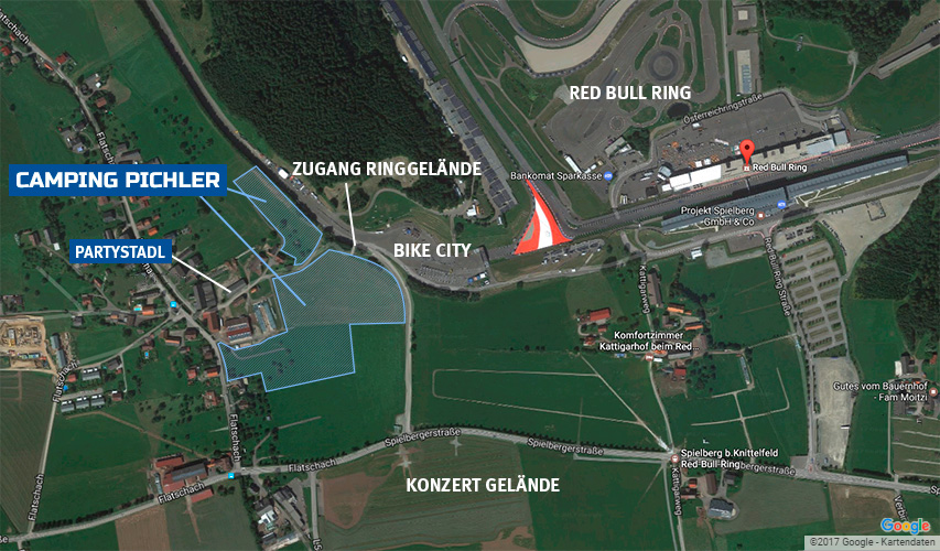 Camping Red Bull Ring Spielberg